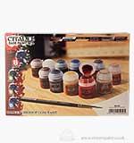 Citadel Base Paint Set (11 Paints and 1 Brush)
