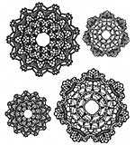 PRE: Tim Holtz Cling Stamps 7x8.5 - Doily