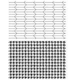 PRE: Tim Holtz Cling Stamps 7x8.5 - Tailor and Houndstooth