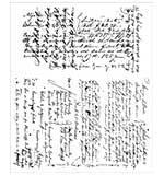 PRE: Tim Holtz Cling Stamps 7x8.5 - Ledger Script