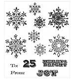 PRE: Tim Holtz Cling Stamps 7x8.5 - Mini Weathered Winter
