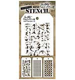 PRE: Tim Holtz Mini Layered Stencil Set 3pk - Set #7