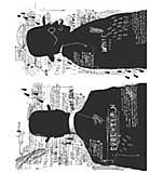 PRE: Tim Holtz Cling Stamps 7x8.5 - Evolution