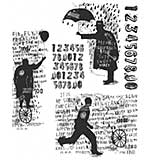 SO: Tim Holtz Cling Stamps 7x8.5 - Sideshow