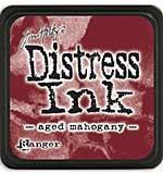 Tim Holtz Distress Mini Ink Pads - Aged Mahogany