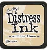 Tim Holtz Distress Mini Ink Pads - Antique Linen