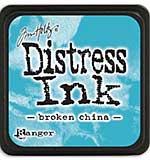 Tim Holtz Distress Mini Ink Pads - Broken China