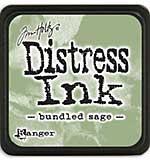 Tim Holtz Distress Mini Ink Pads - Bundled Sage