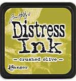Tim Holtz Distress Mini Ink Pads - Crushed Olive