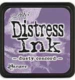 Tim Holtz Distress Mini Ink Pads - Dusty Concord