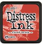 Tim Holtz Distress Mini Ink Pads - Fired Brick