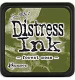 Tim Holtz Distress Mini Ink Pads - Forest Moss