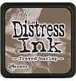 Tim Holtz Distress Mini Ink Pads - Frayed Burlap