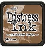 Tim Holtz Distress Mini Ink Pads - Gathered Twigs