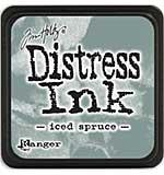 Tim Holtz Distress Mini Ink Pads - Iced Spruce