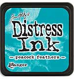 Tim Holtz Distress Mini Ink Pads - Peacock Feathers