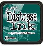 Tim Holtz Distress Mini Ink Pads - Pine Needles