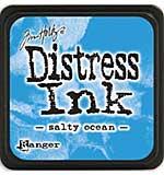 Tim Holtz Distress Mini Ink Pads - Salty Ocean