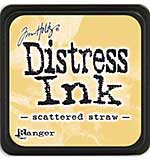 Tim Holtz Distress Mini Ink Pads - Scattered Straw