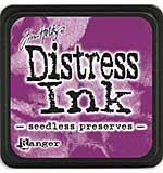 Tim Holtz Distress Mini Ink Pads - Seedless Preserves