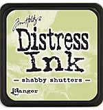 Tim Holtz Distress Mini Ink Pads - Shabby Shutters