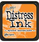 Tim Holtz Distress Mini Ink Pads - Spiced Marmalade