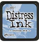 Tim Holtz Distress Mini Ink Pads - Stormy Sky
