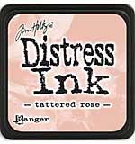Tim Holtz Distress Mini Ink Pads - Tattered Rose