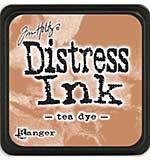 Tim Holtz Distress Mini Ink Pads - Tea Dye