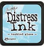 Tim Holtz Distress Mini Ink Pads - Tumbled Glass