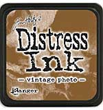 Tim Holtz Distress Mini Ink Pads - Vintage Photo
