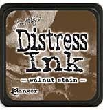 Tim Holtz Distress Mini Ink Pads - Walnut Stain