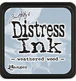 Tim Holtz Distress Mini Ink Pads - Weathered Wood