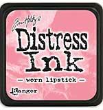 Tim Holtz Distress Mini Ink Pads - Worn Lipstick