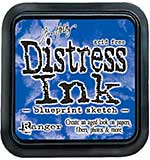 SO: Tim Holtz Distress Ink Pad - Blueprint sketch (COTM July)