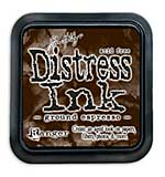 Tim Holtz Distress Ink Pad - Ground Espresso (COTM August)