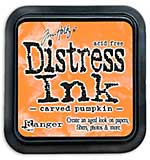 Tim Holtz Distress Ink Pad - Carved Pumpkin (COTM October)