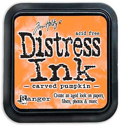 Tim Holtz Distress Ink Pad - Carved Pumpkin (COTM October)