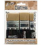 SO: Tim Holtz Distress Collage Brush Assortment (0.75, 1.25, 1.75 inch)