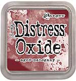 NEW COLOUR Tim Holtz Distress Oxides Ink Pad - Aged Mahogany [OX1801]