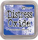 PRE: Tim Holtz Distress Oxides Ink Pad - Blueprint Sketch [OX1801]