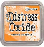 NEW COLOUR Tim Holtz Distress Oxides Ink Pad - Carved Pumpkin [OX1801]