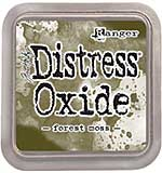 NEW COLOUR Tim Holtz Distress Oxides Ink Pad - Forrest Moss [OX1801]