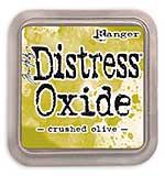 Tim Holtz Distress Oxides Ink Pad - Crushed Olive [OX1807]