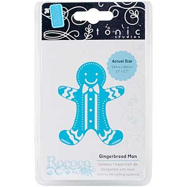 Tonic Studios Rococo Petite Die - Gingerbread Man