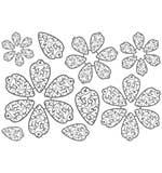PRE: Spellbinders Stamps - Flower Play Stamps