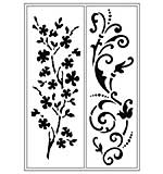 Viva Flex template D1 grasses and Flourishes 21x14, 8 cm