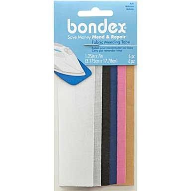 Bondex Iron-On Mending Tape (7 x 1.25 6pk , Multi-colour)