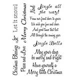 Card-io - Christmas Sentiments Clear Stamp Set