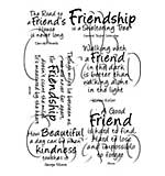Card-io Clear Stamp Friends